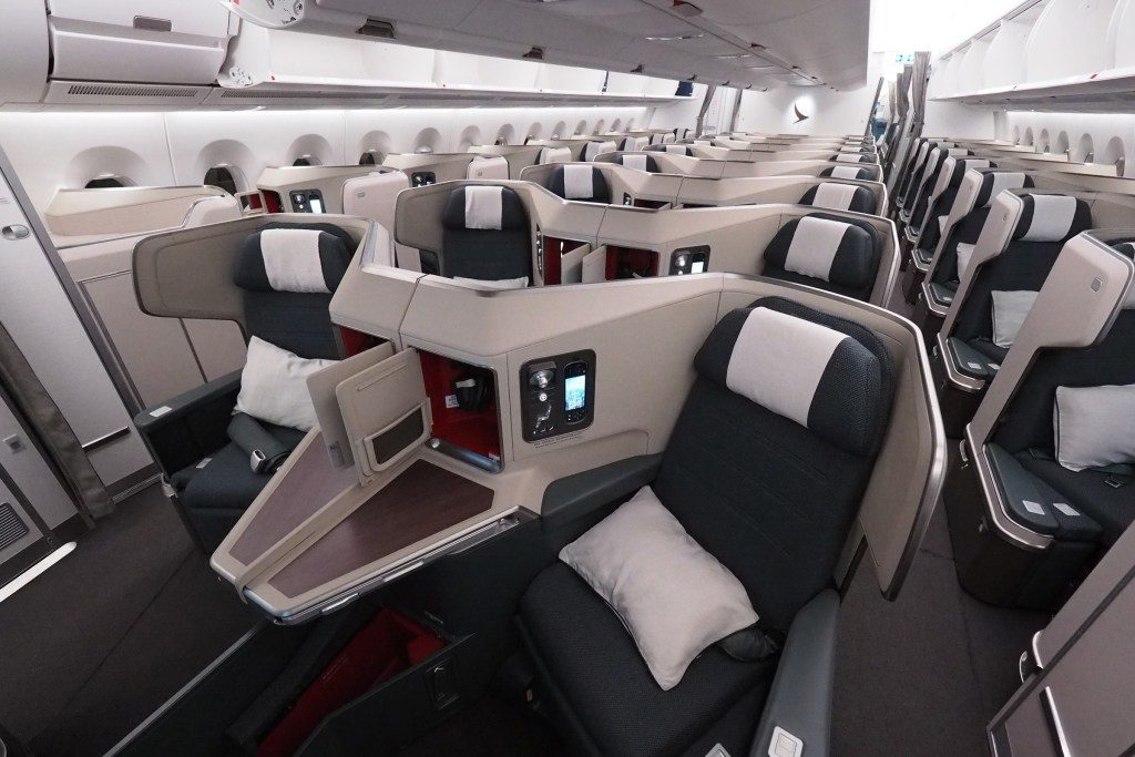 Cathay Pacific A350 Business Class review
