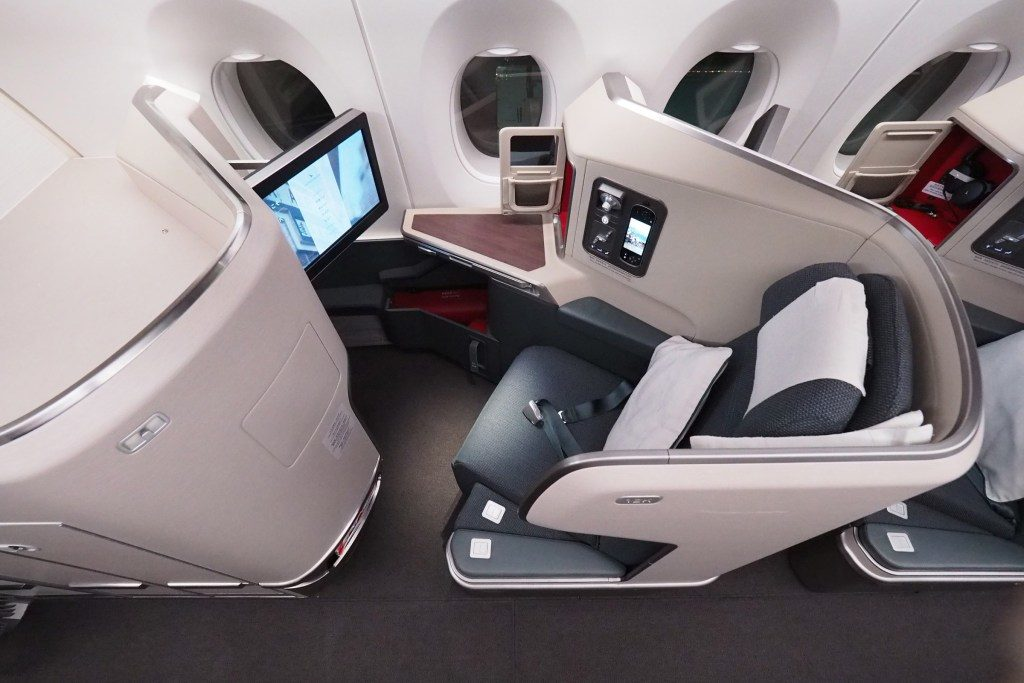 Cathay Pacific Business Class A350 Revealed