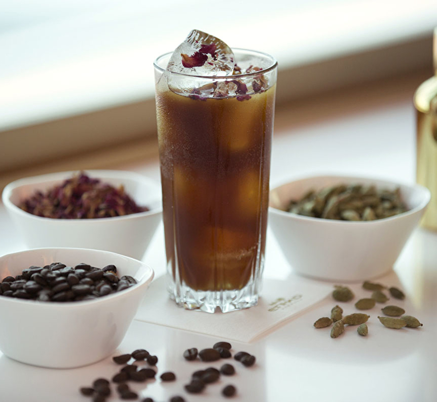 Etihad First Class Lounge: Signature Mocktail. SkyLuxTravel Blog. SkyLux - Discounted Business and First Class Flights