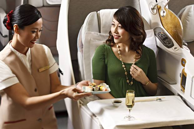 Emirates Business Class Services. SkyLuxTravel Blog. SkyLux - Discounted Business and First Class Flights