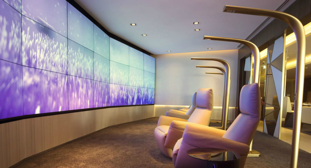 Etihad First Class Lounge: Relax and Recline. SkyLuxTravel Blog. SkyLux - Discounted Business and First Class Flights