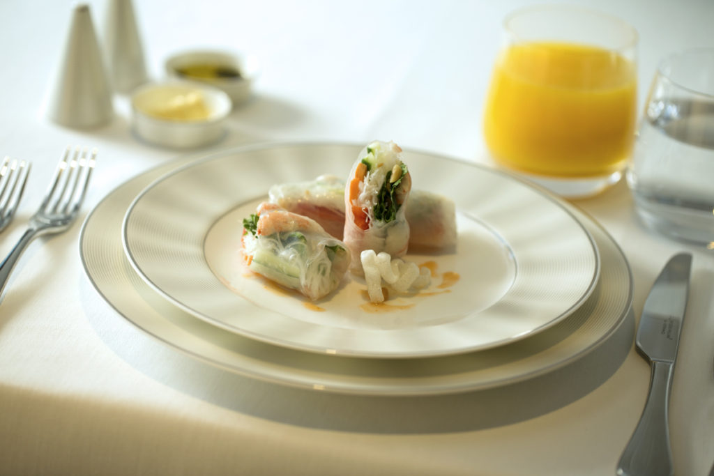 Etihad First Class Lounge: Food. SkyLuxTravel Blog. SkyLux - Discounted Business and First Class Flights