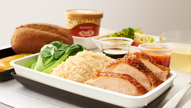 Busines Class Meal. SkyLuxTravel Blog. SkyLux - Discounted Business and First Class Flights