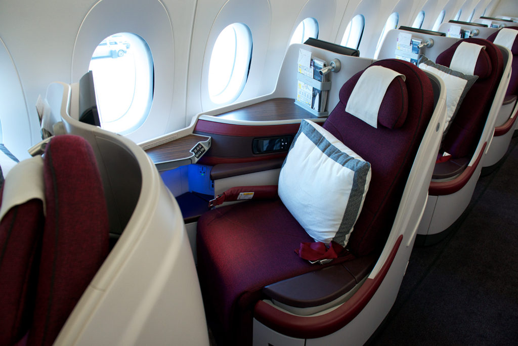 Qatar Airways Business Class. SkyLuxTravel Blog. SkyLux - Discounted Business and First Class Flights
