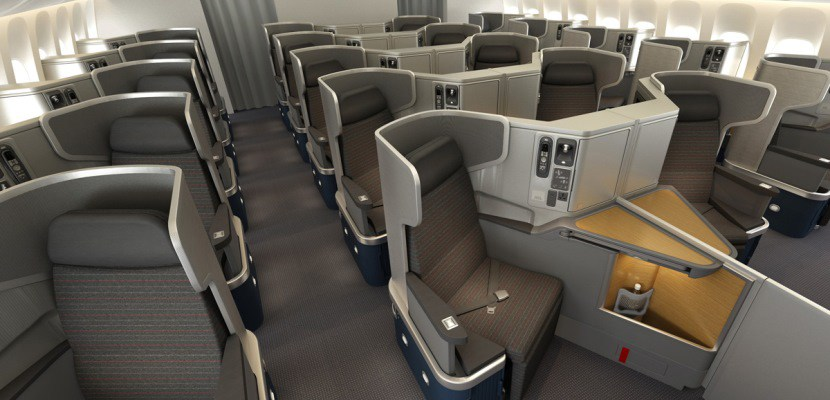 American Airlines Business Class seat. SkyLuxTravel Blog. SkyLux - Discounted Business and First Class Flights