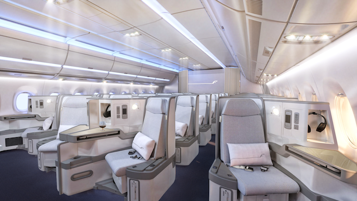 Finnair Business Class seat. SkyLuxTravel Blog. SkyLux - Discounted Business and First Class Flights