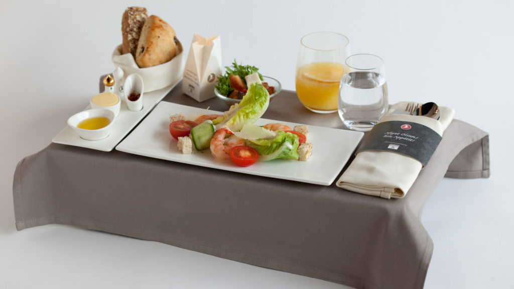 Turkish Airlines Business Class Meal. SkyLuxTravel Blog. SkyLux - Discounted Business and First Class Flights