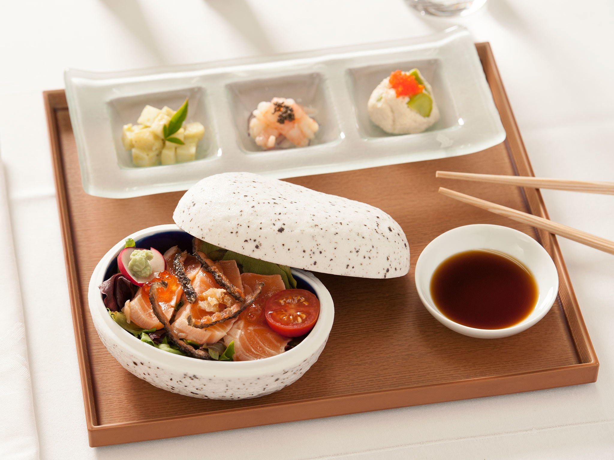 Singapore Airlines - Sushi Set. SkyLuxTravel Blog. SkyLux - Discounted Business and First Class Flights