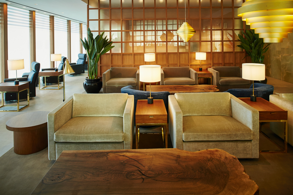 Cathay Pacific Heathfow Lounge. SkyLuxTravel Blog. SkyLux - Discounted Business and First Class Flights