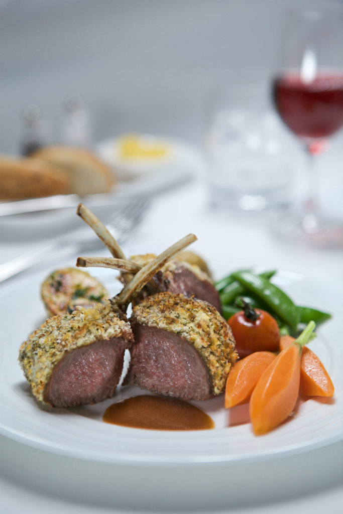 Emirates First Class Lamb Rack. SkyLuxTravel Blog. SkyLux - Discounted Business and First Class Flights