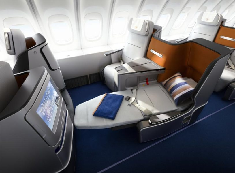 Best Business Class Seats for Couples - Lufthansa. SkyLuxTravel Blog. SkyLux - Discounted Business and First Class Flights