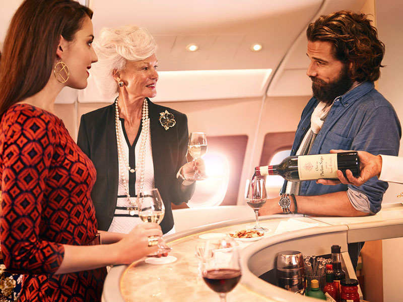 Best Airline Wine Lists - Emirates. SkyLuxTravel Blog. SkyLux - Discounted Business and First Class Flights