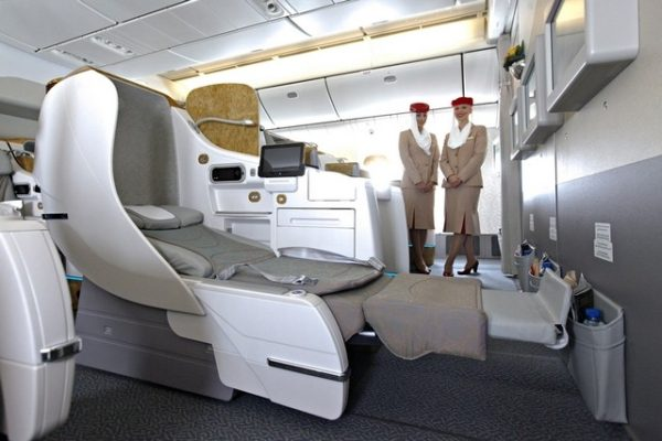 10 Longest Business Class Flights: Emirates Business Class Flight Dubai - Houston. SkyLux - Discounted Business and First Class Flights
