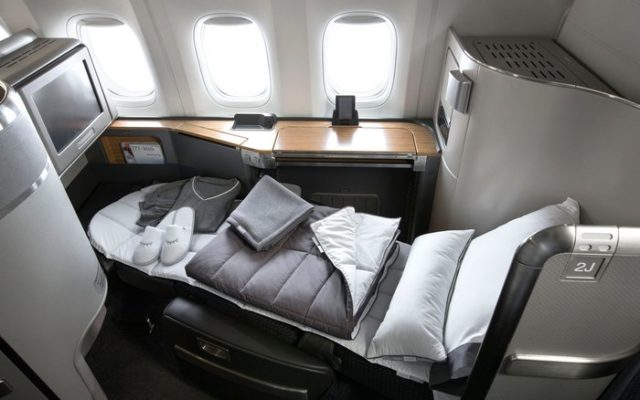 Which Airlines Provide Pajamas In Business Class