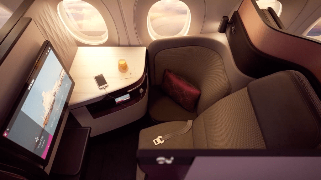 Qatar Airways Qsuites - The New Way to Travel Business Class. SkyLux - Discounted Business and First Class Flights.