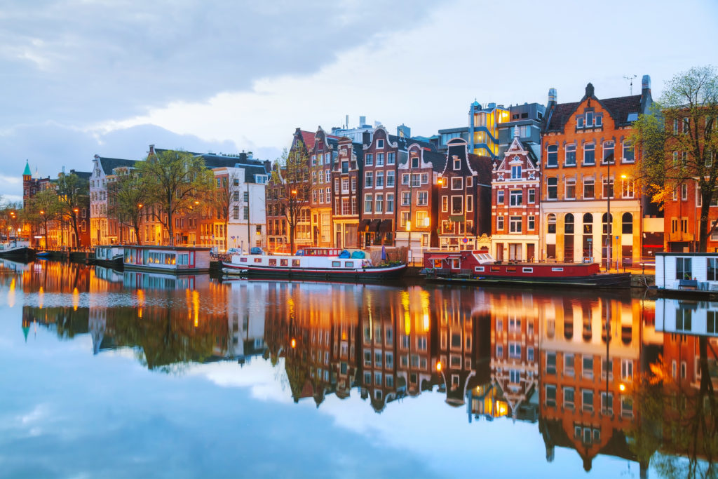 5 Luxury Spring Break Destinations 2018: Amsterdam, the Netherlands: The City of Blooming Hearts. SkyLux - Discounted Business and First Class Flights.