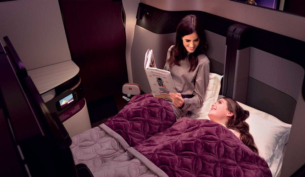 Qatar Airways Qsuites - The New Way to Travel Business Class. Perfect for Families! SkyLux - Discounted Business and First Class Flights.
