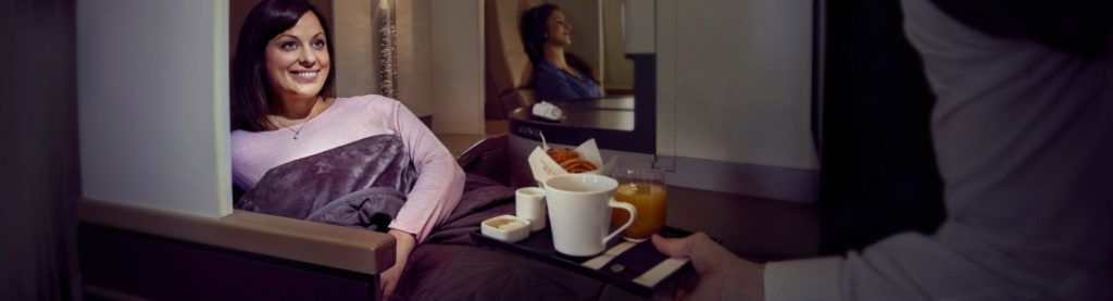Business Class with Etihad Air