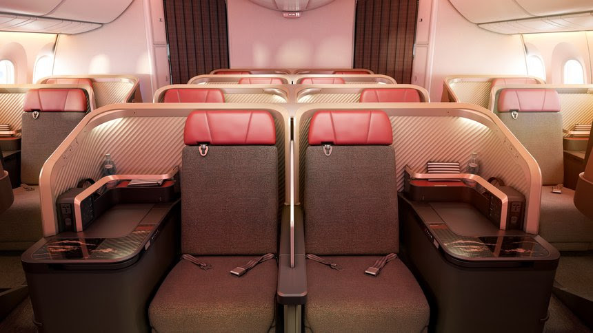 LATAM Airlines Unveils New Business Class Interiors