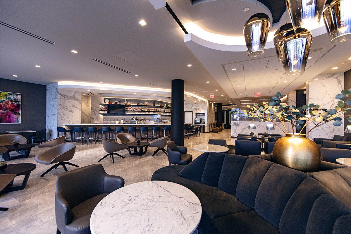 United Polaris New Business Class Lounge in Los Angeles