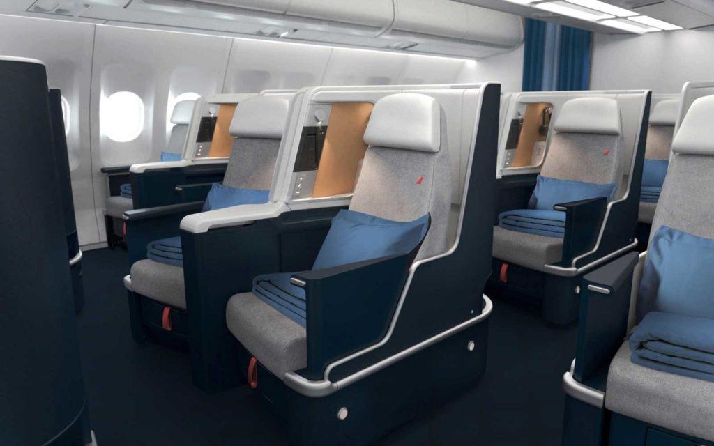 Air France New A330 Business Class.