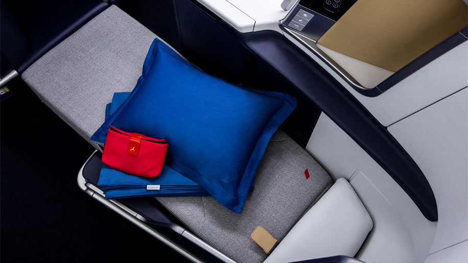 Air France A330 Business Class Launched.