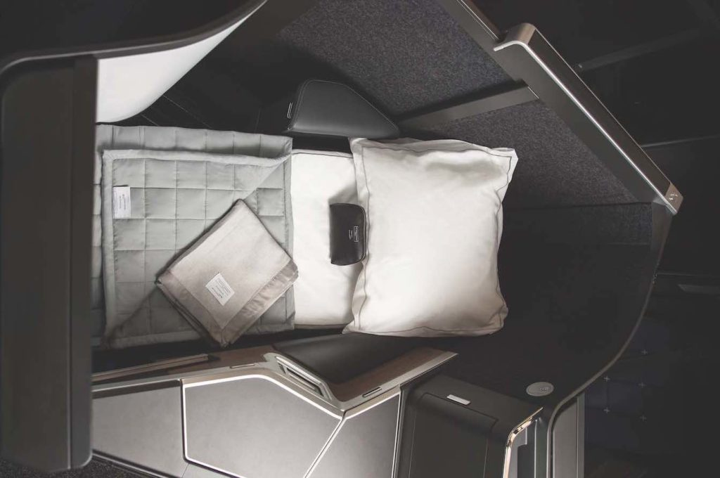 British Airways New Business Class.
