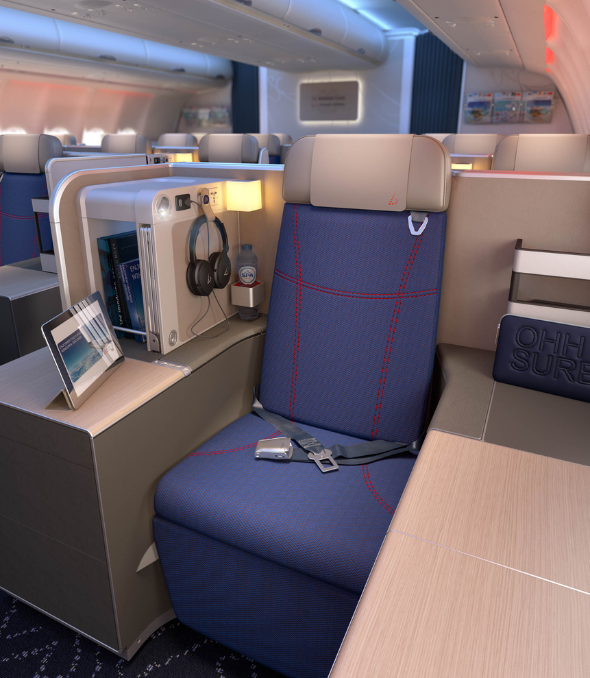 Brussels Airlines Opens a Boutique in the Air,
