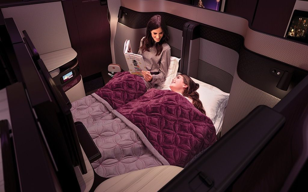 Business class Travel Tips: Flying with Kids